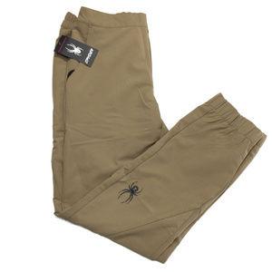 Spyder Men Polar Jogger Track Pants 71E65050-05 Grey Size XL MSRP $89